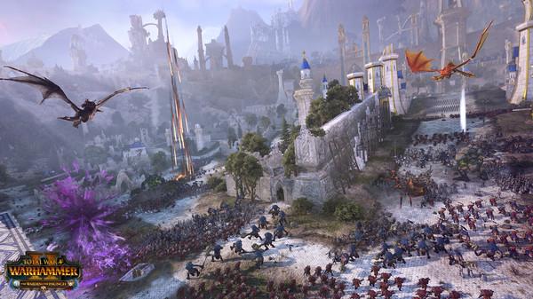 《全面战争战锤2》新DLC上市:精灵与绿皮的世仇
