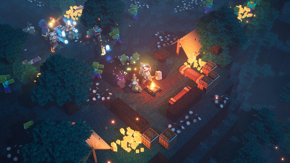 《我的世界:地下城》发售在即 多段实机演示公开