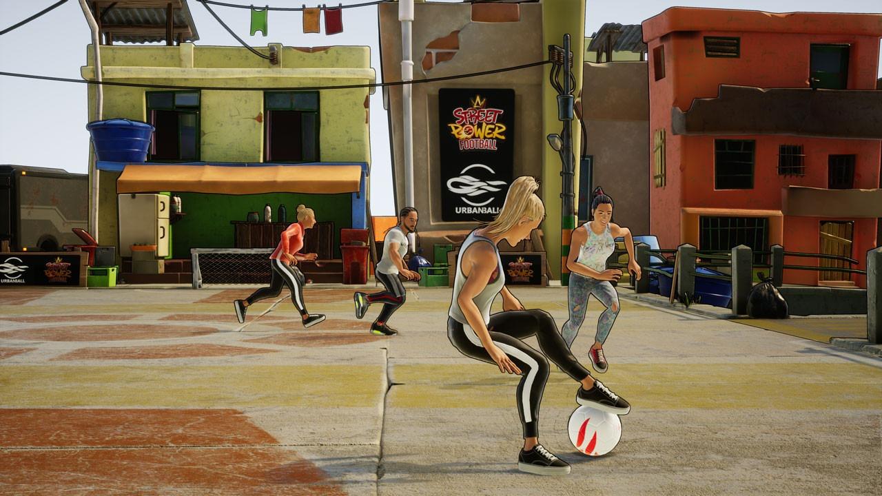 休闲体育游戏《街头足球》面向PS4/XB1/NS/PC公布