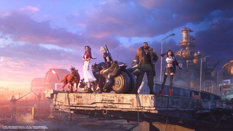 《最终幻想7:重制版》创美区FF系列首发月记录