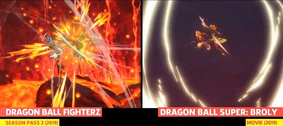 《龙珠战士Z》自在极意功悟空、卡芙拉与动画对比