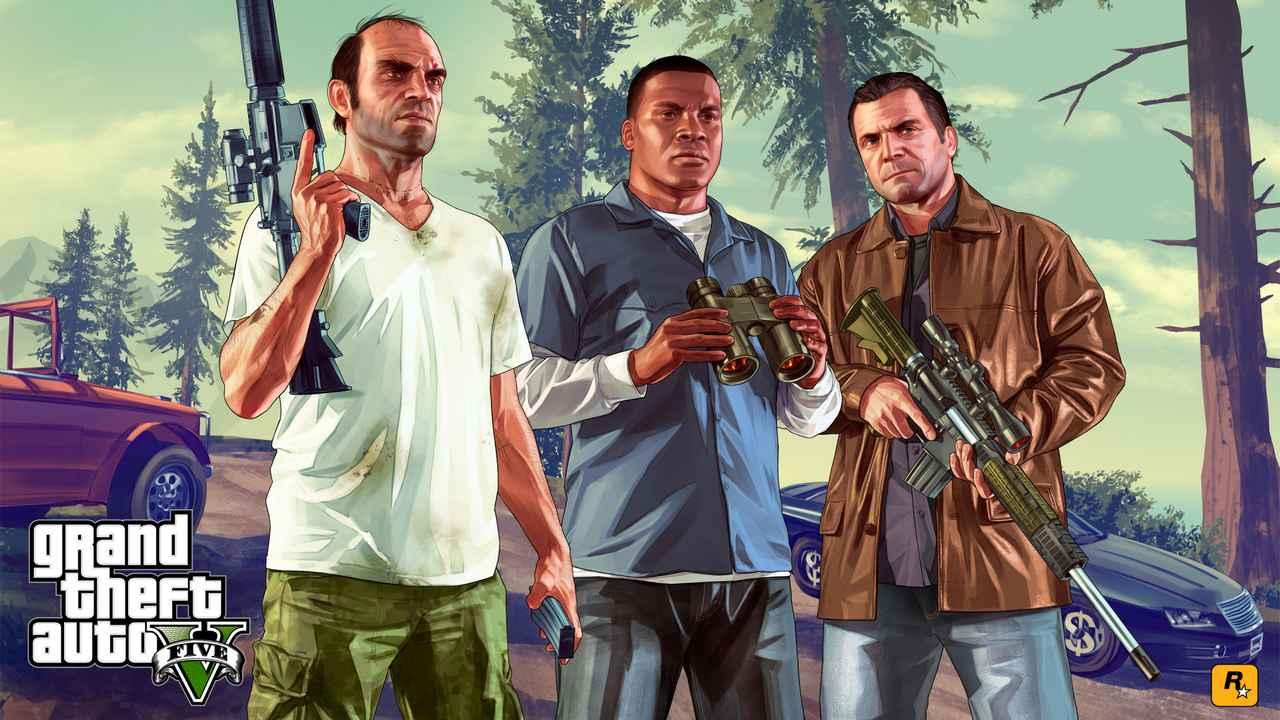 英国游戏周销榜:《动森》三连冠 《GTA5》第四