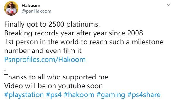 炯炯有神的双眼!奖杯帝PS4白金数突破2500个
