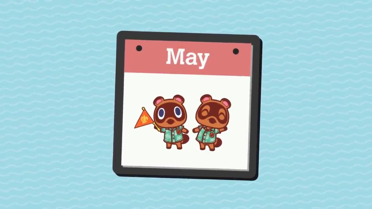 任天堂发视频回顾《集合啦!动物森友会》中的五月