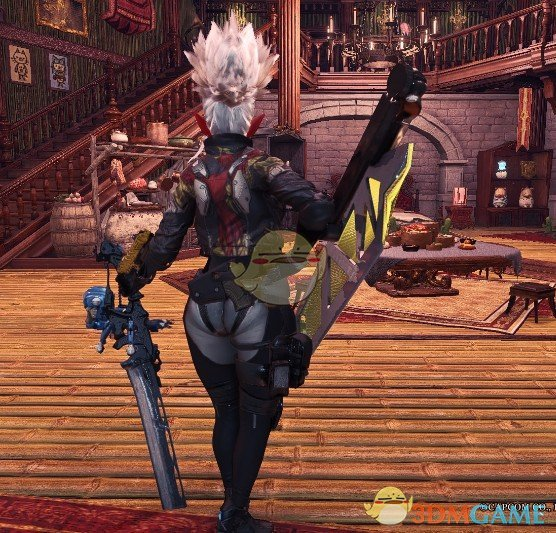 《怪物猎人:世界》机械风片手剑MOD
