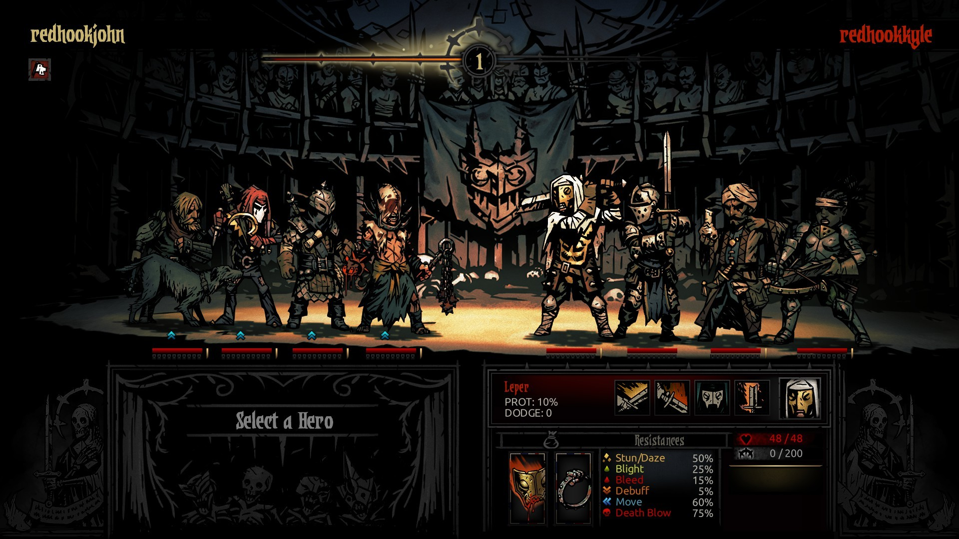 《暗黑地牢》Steam限时免费游玩 5月28日开启