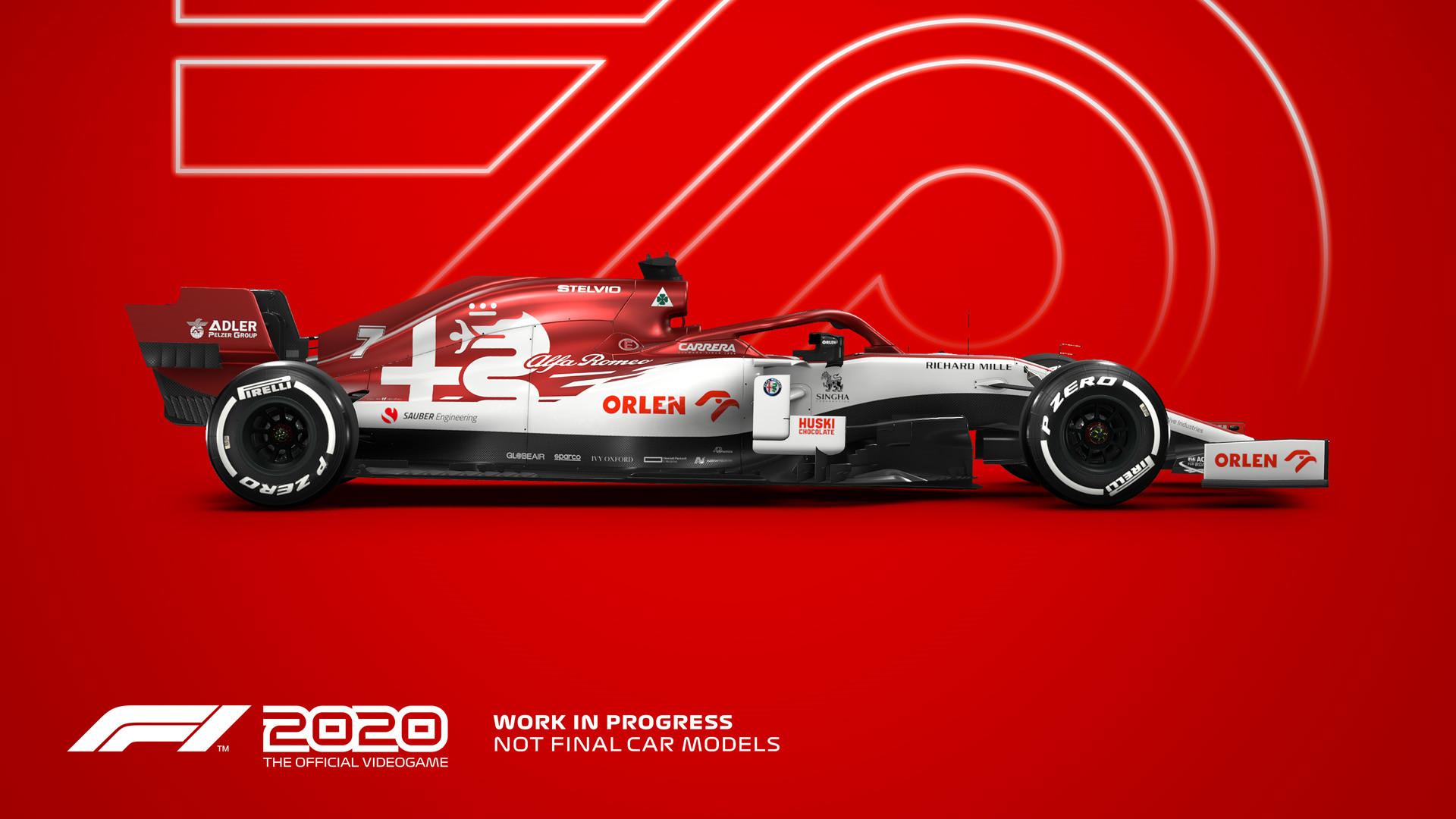 《F1 2020》河内赛道单圈演示 第一人称极速体验