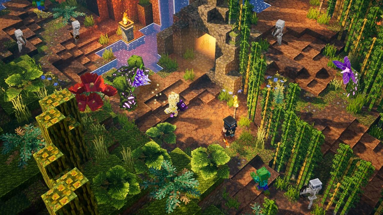 《我的世界:地下城》更新计划:首个DLC于7月推出