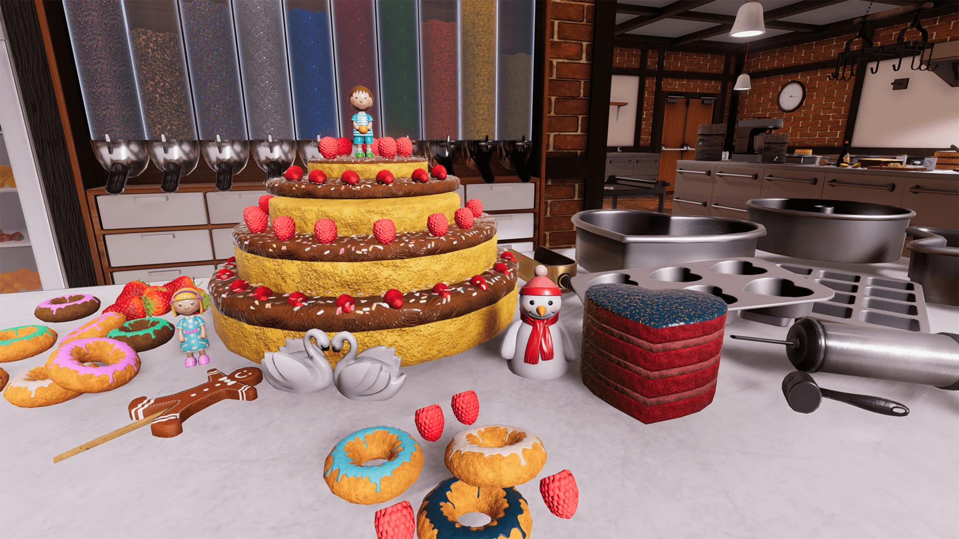 """《料理模拟器》DLC""""糕点""""将于6月11日登陆Steam"""