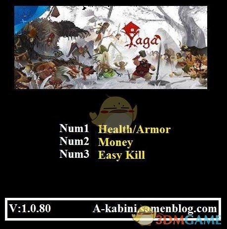 《Yaga》v1.0.80三项修改器[Abolfazl]