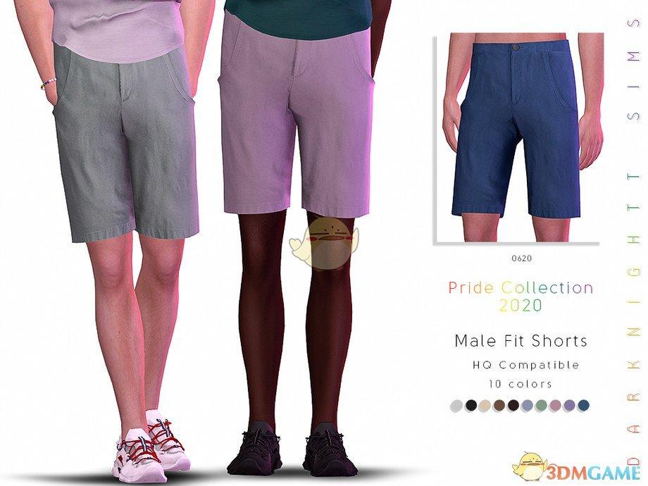 《模拟人生4》男士夏季清凉中裤MOD