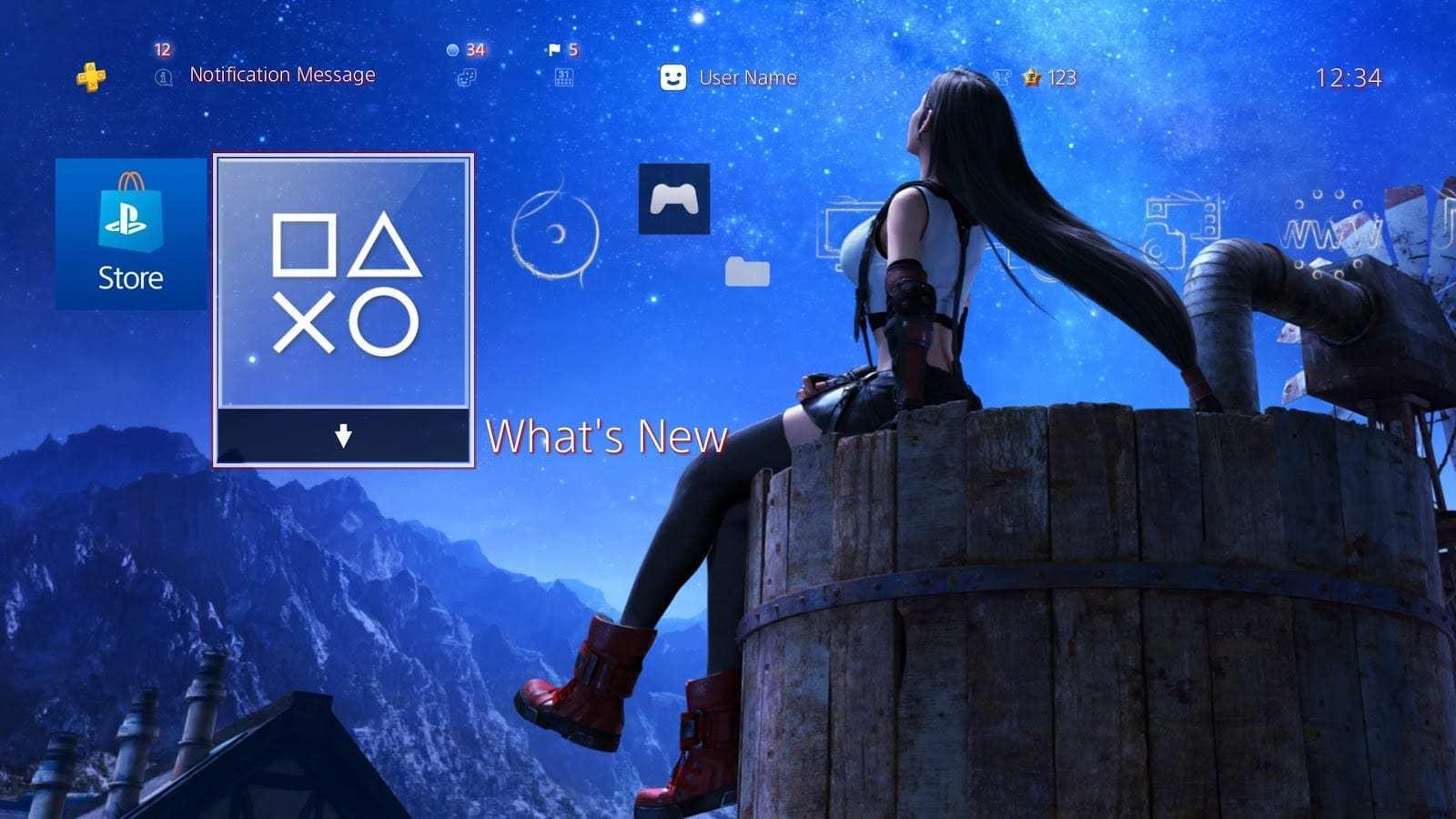 《最终幻想7:重制版》蒂法动态主题 欧美地区免费领取
