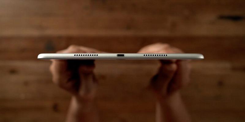 iPad Air4曝光:窄边框屏幕+Face ID USB-C接口