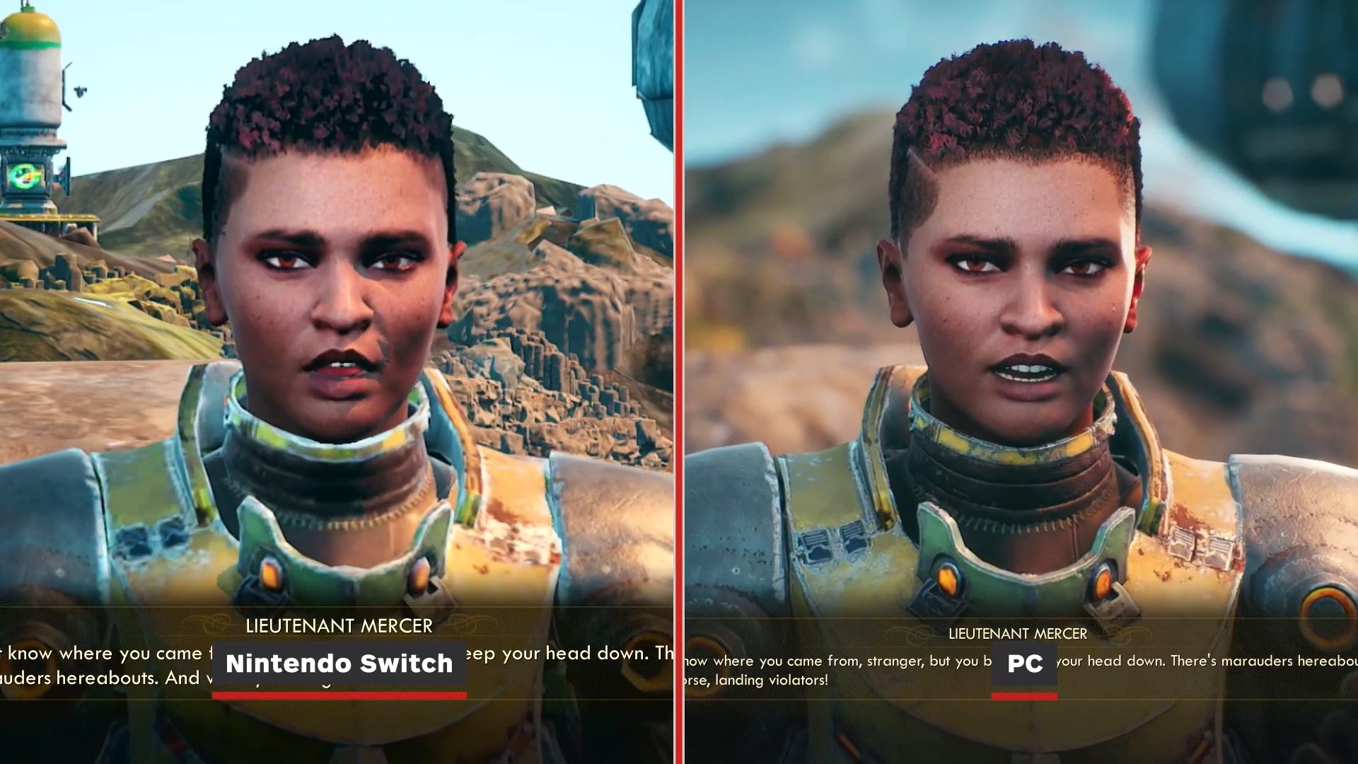 Switch版《天外世界》19分钟演示 Switch与PC对比