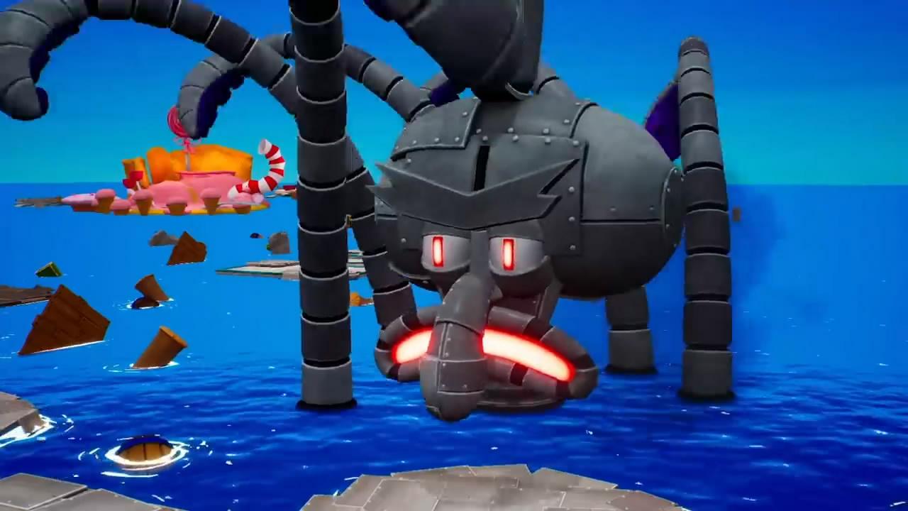 《海绵宝宝:争霸比基尼海滩》多人模式预告 章鱼哥霸气