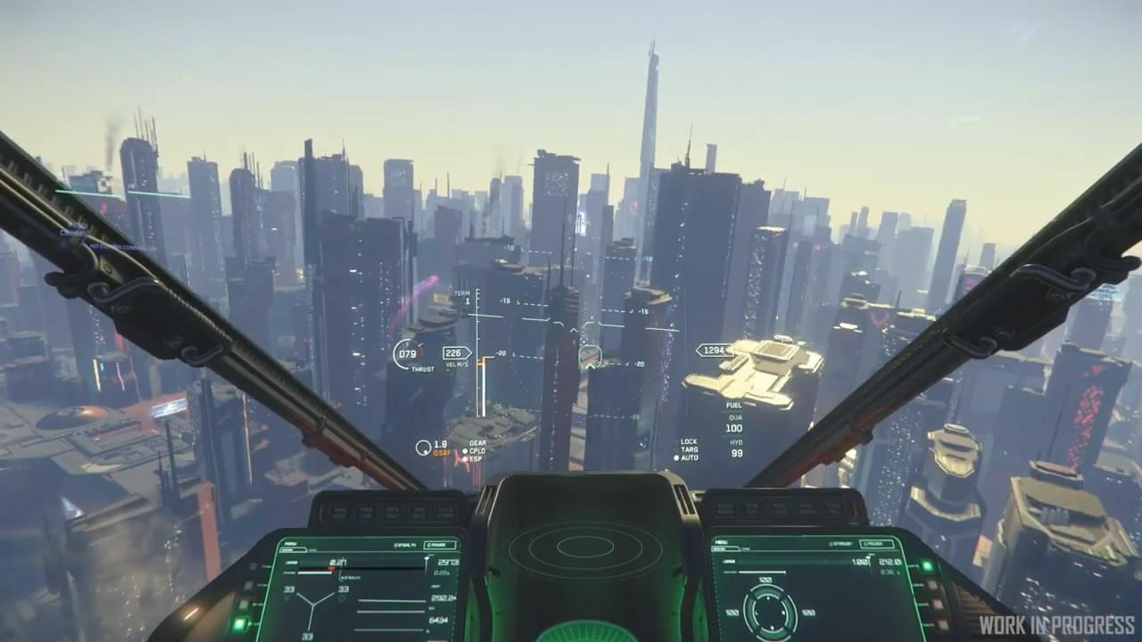 《星际公民》新视频展示 视觉效果让人印象深刻