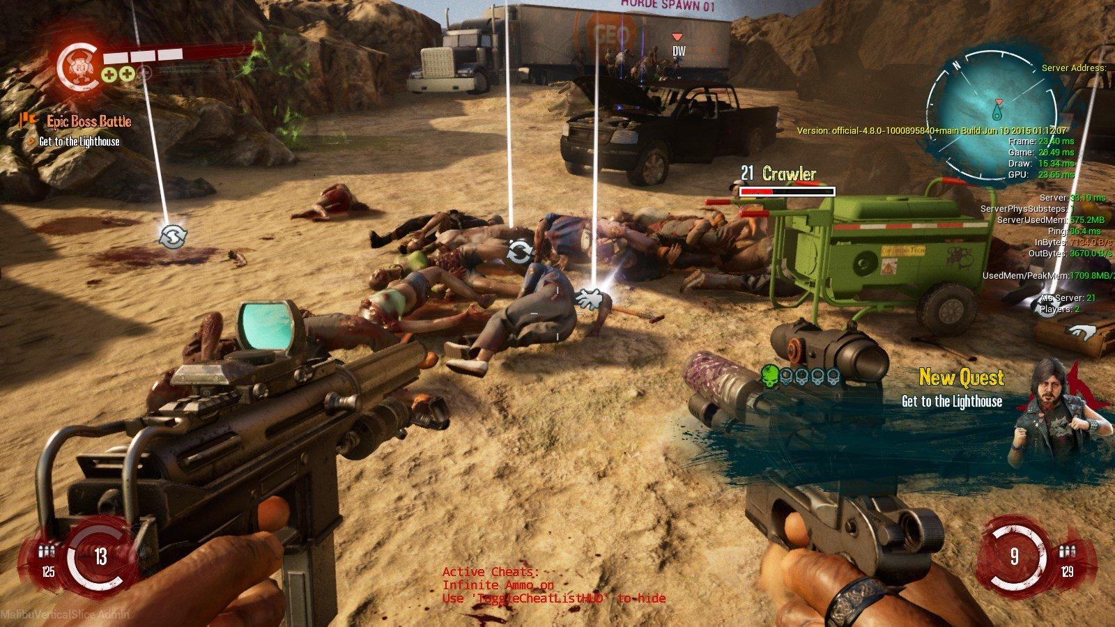 《死亡岛2》2015开发版本新截图泄露 看起来还可以