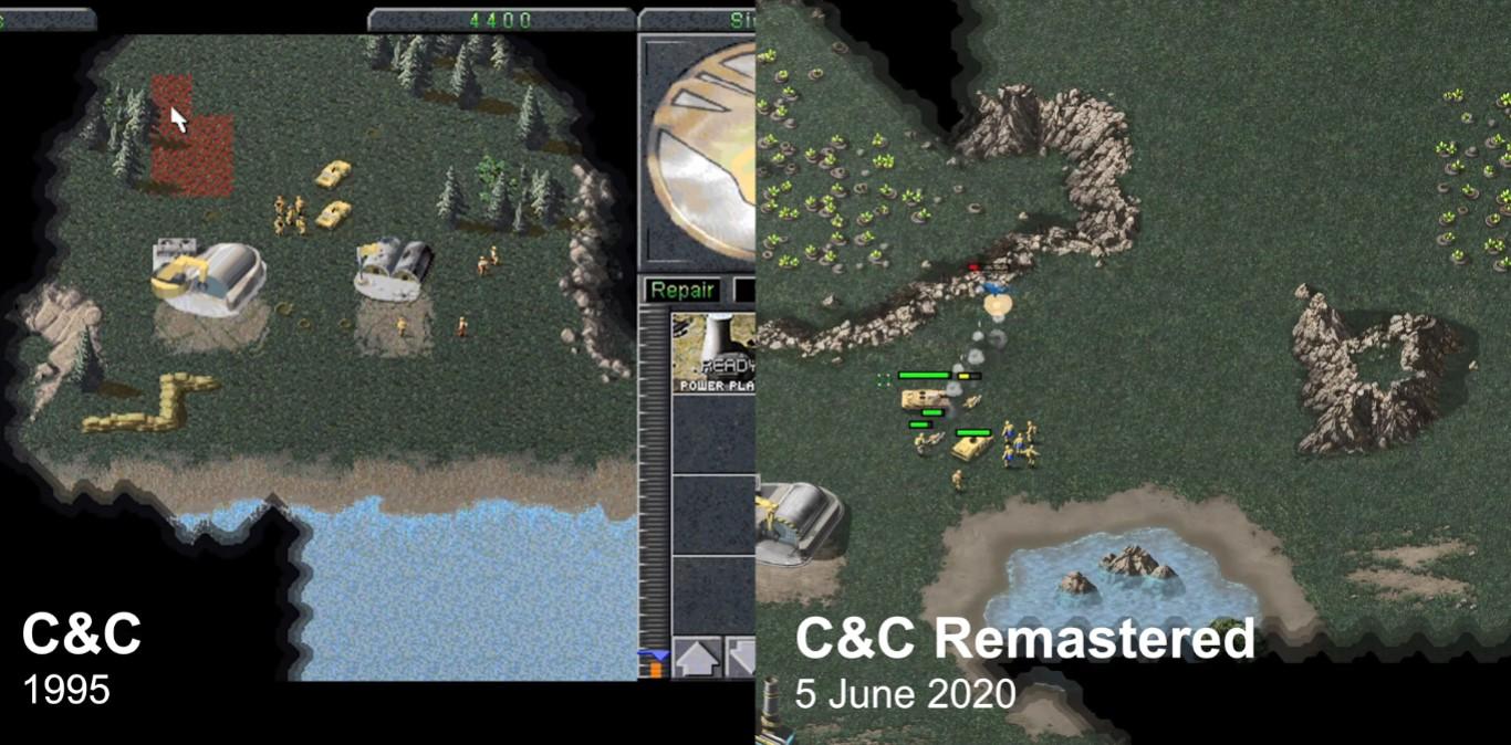 《命令与征服:重制版》VS原版 EA终于良心了一把