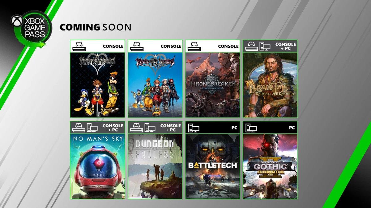 XGP 6月新增游戏公布 《巫师之昆特牌:王权的陨落》将加入