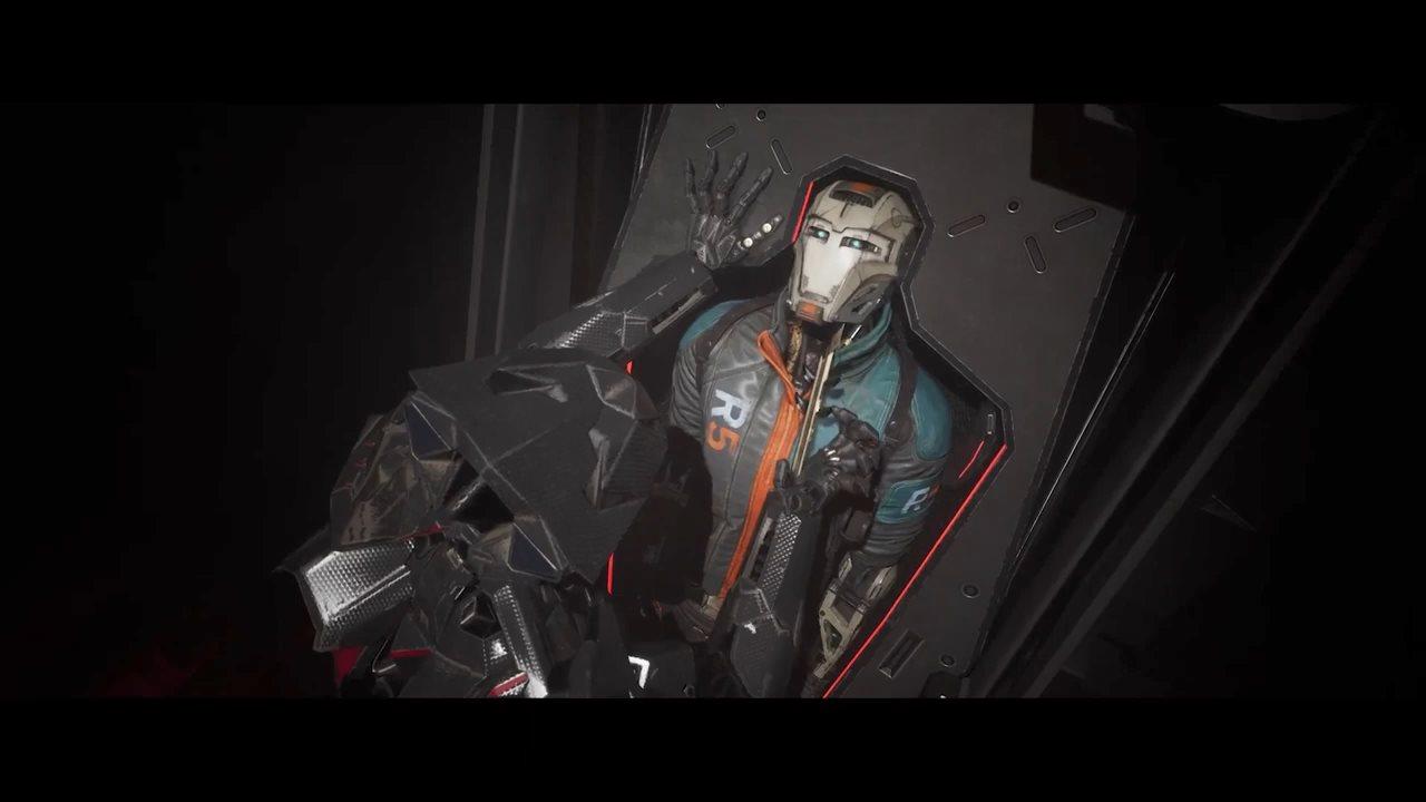 科幻FPS《崩解》开局23分钟演示 人机结合刺激对战