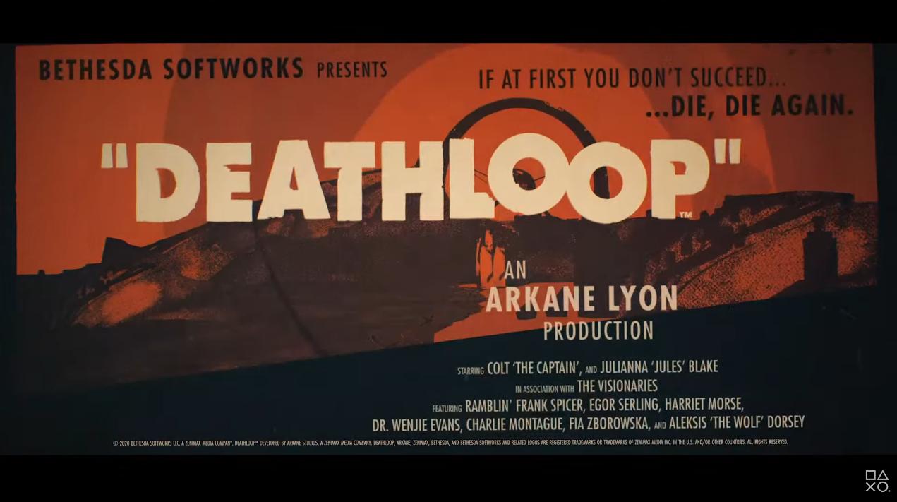 PS5发布会:《耻辱》厂商新作《死亡循环》新宣传片