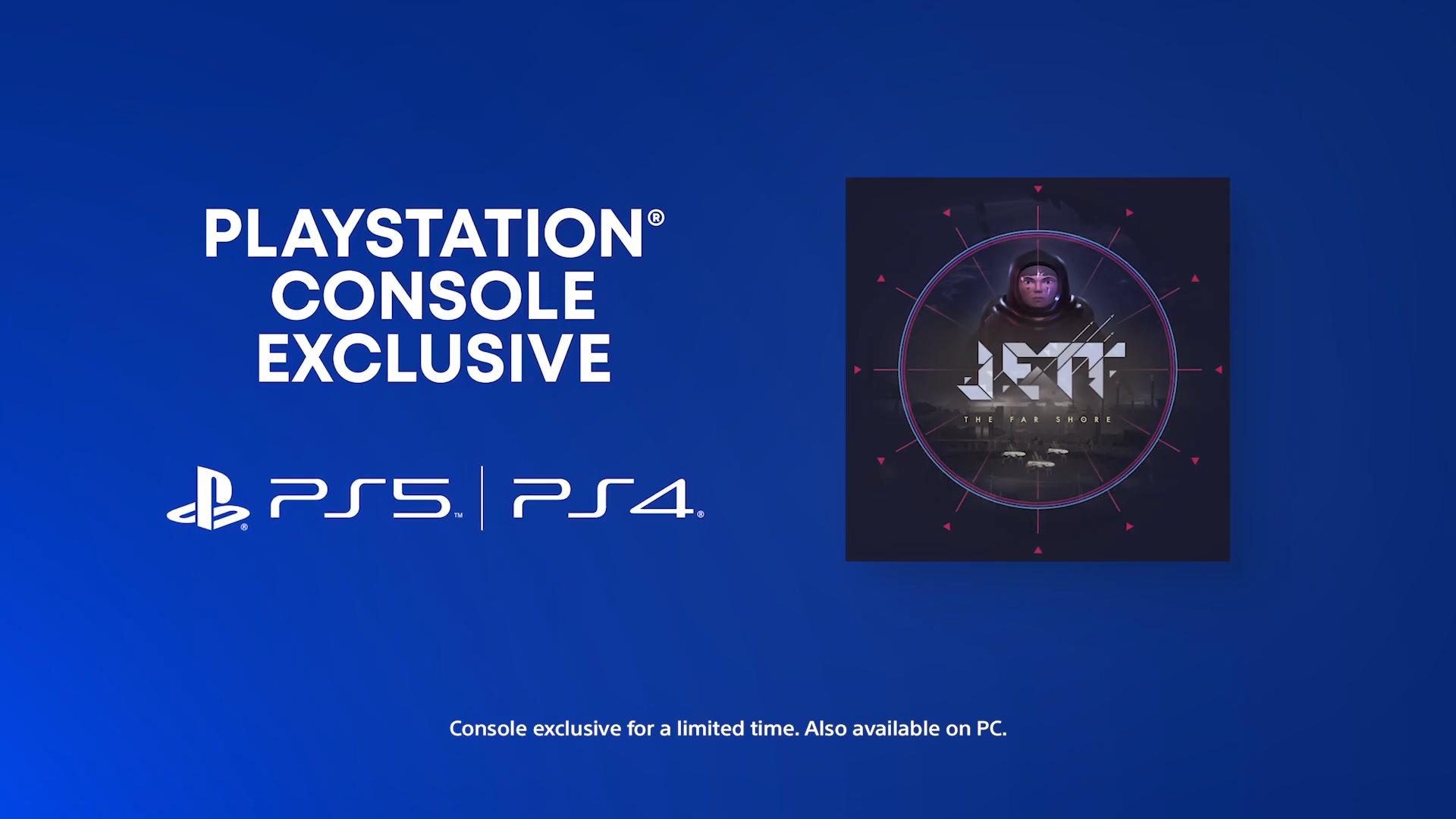 PS5发布会:太空探索游戏《Jett:遥远彼岸》2020年发售