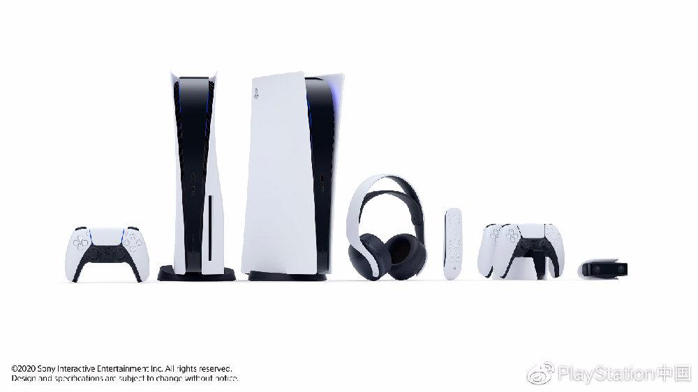 PlayStation中国:SIE发布PS5的惊艳设计