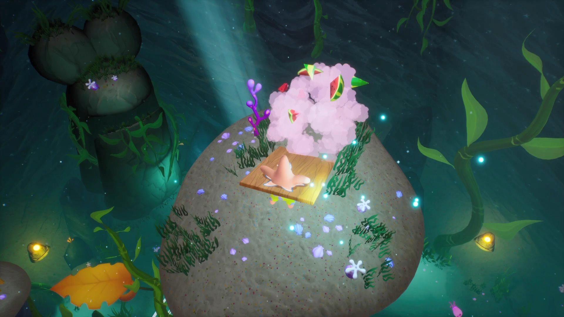 《海绵宝宝:争霸比基尼海滩 再注水》海藻森林场景预告