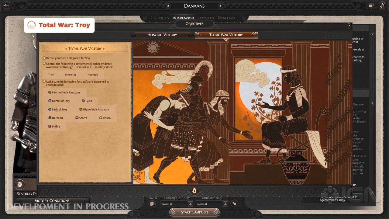 IGN游戏之夏:《全面战争传奇:特洛伊》开发者访谈演示
