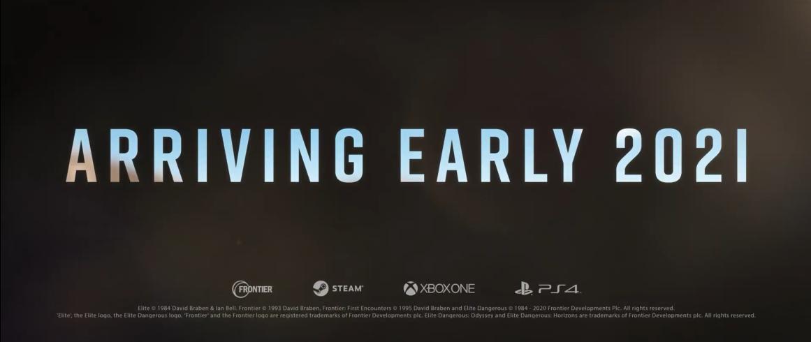 PC游戏展:《精英危机:奥德赛》2021年初推出