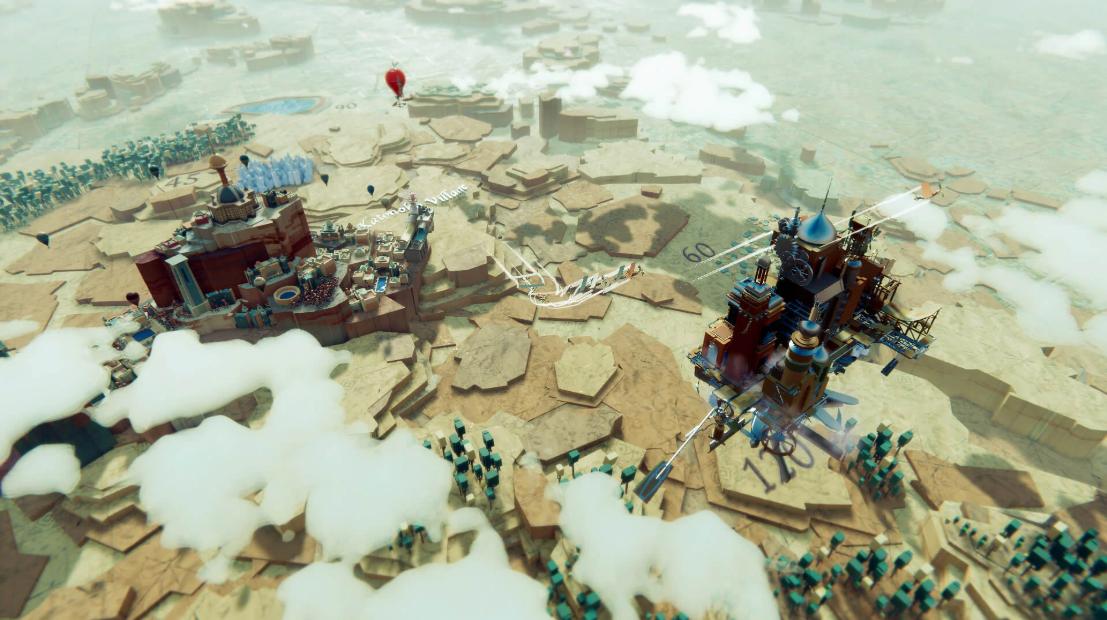 PC游戏展:城市管理游戏《空中王国(Airborne Kingdom)》公布