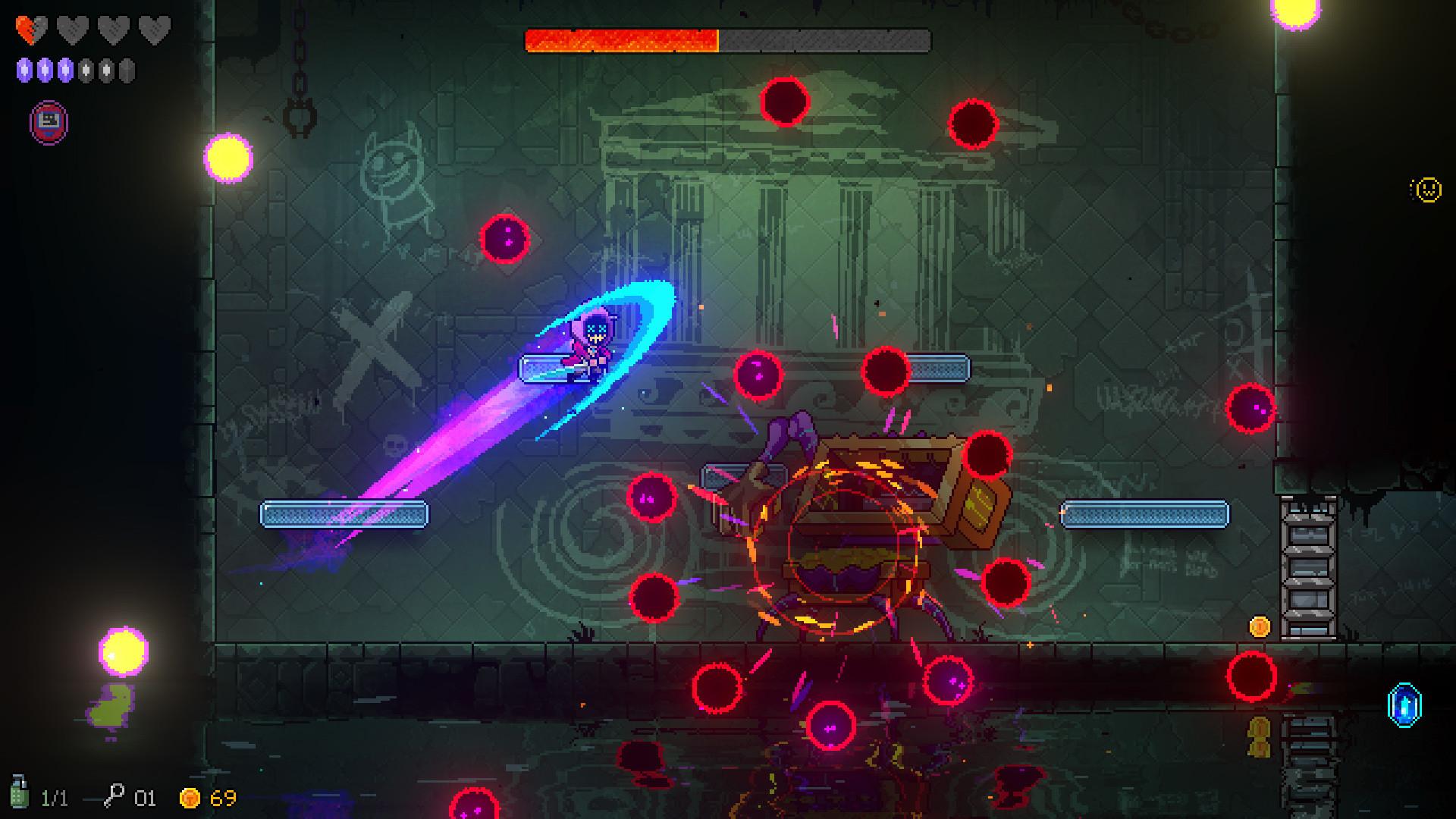 未来游戏展:Roguelite新作《霓虹深渊》下月发售