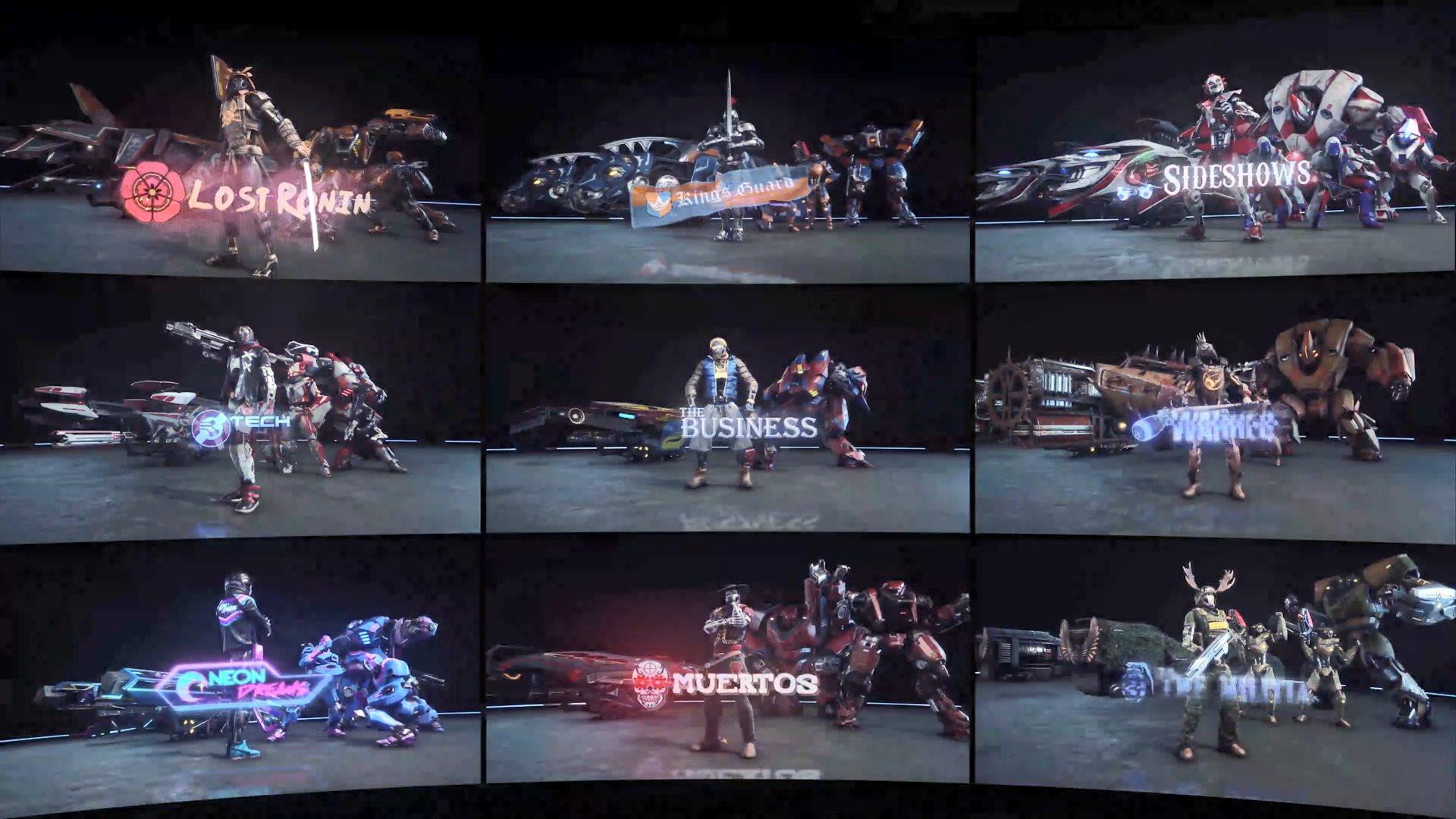 光环创始人新作《崩解》正式发售 作战小队宣传片释出