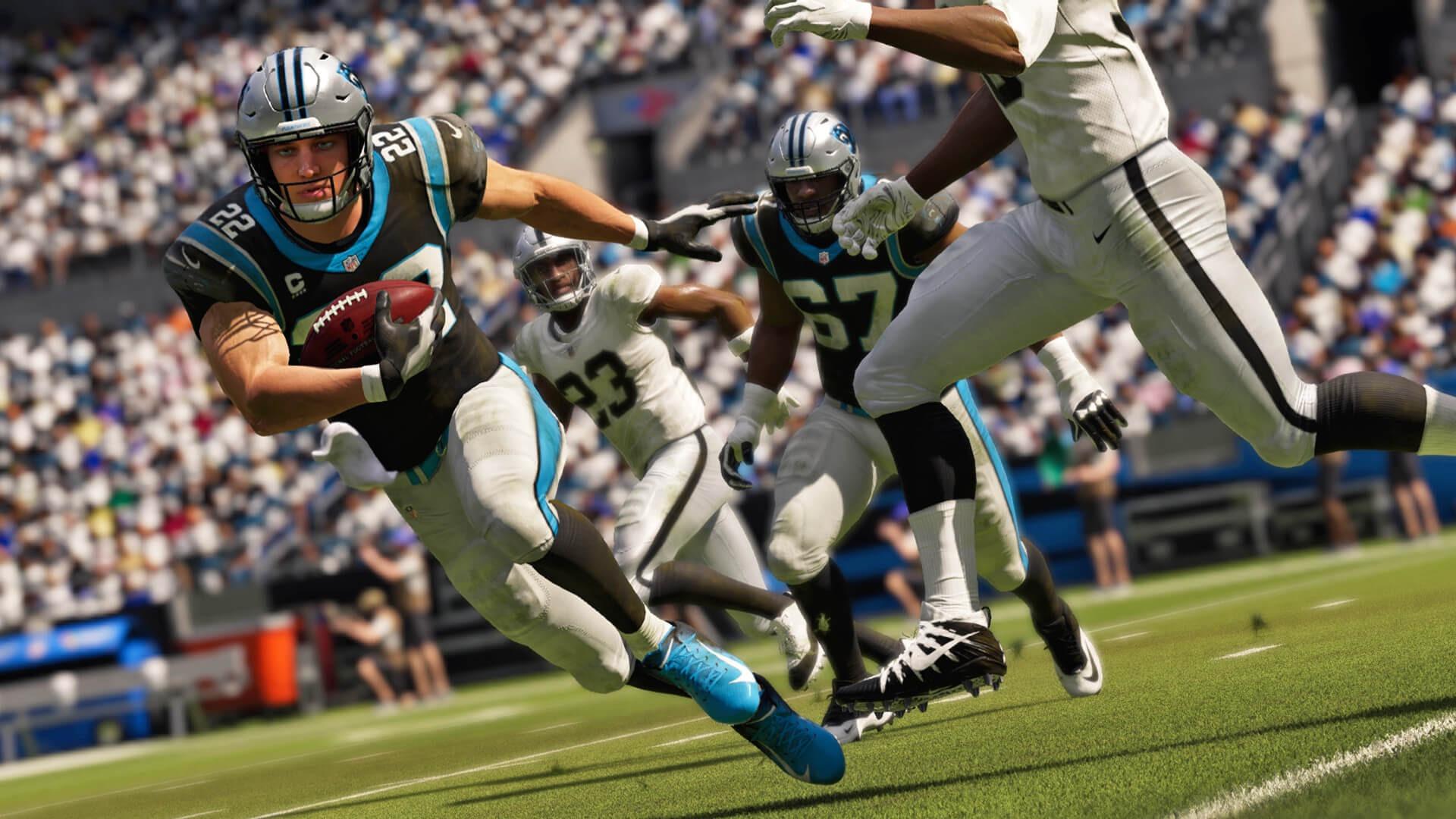 《麦登橄榄球21》次世代主机版将实时更新球员数据