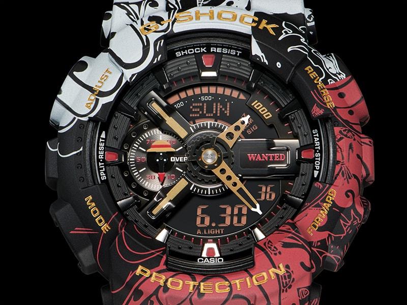 卡西欧推出《海贼王》联动新G-SHOCK腕表 设计精美酷炫绝伦
