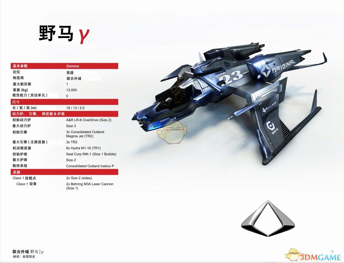《星际公民》联合外域野马中文手册一览