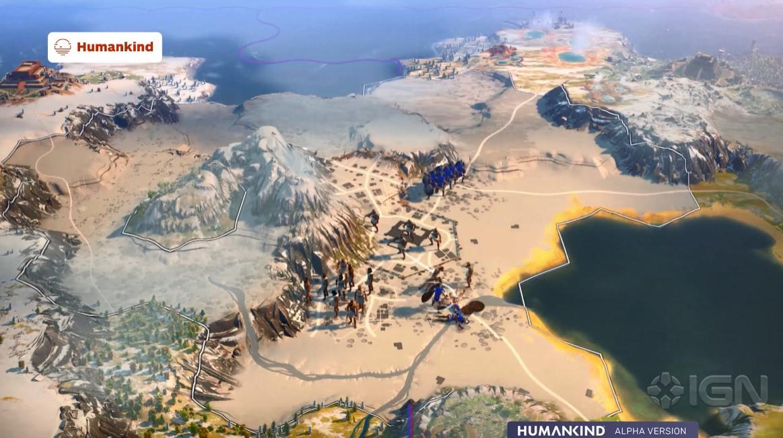 类文明策略游戏《人类》6分钟实机演示 重写人类故事