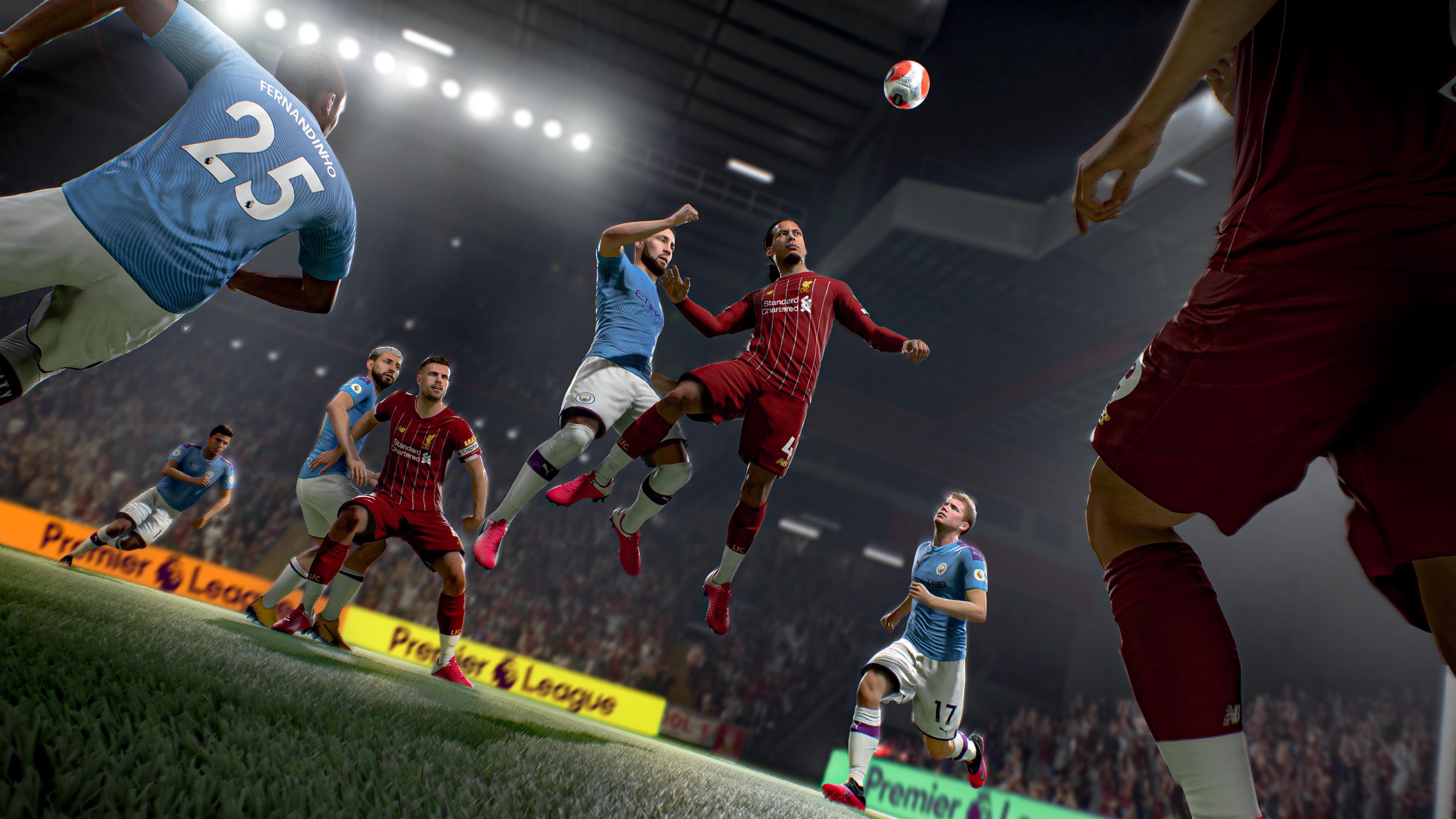 EA PLAY:《FIFA 21》全方位升级 可跨世代版本升级