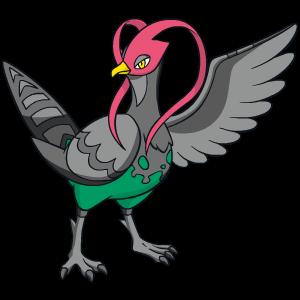 《宝可梦:剑/盾》高傲雉鸡63单打配招