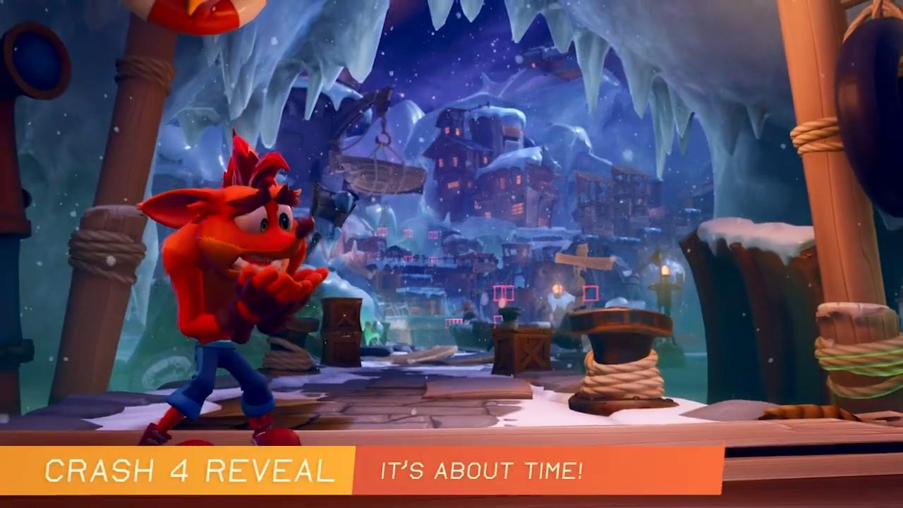 《古惑狼4》试玩视频演示全新面具特殊能力