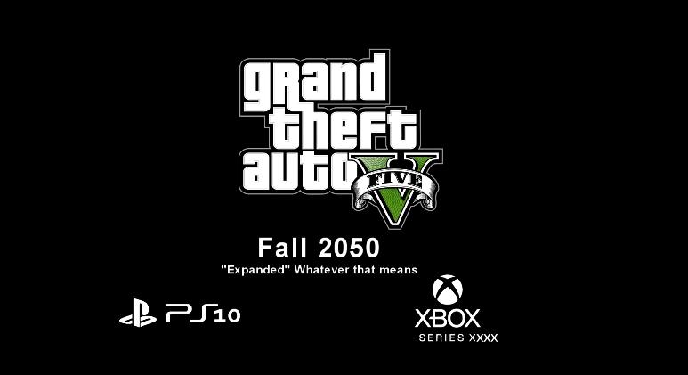 玩家制作《GTA5》PS10发布会恶搞预告视频:销量五千亿?