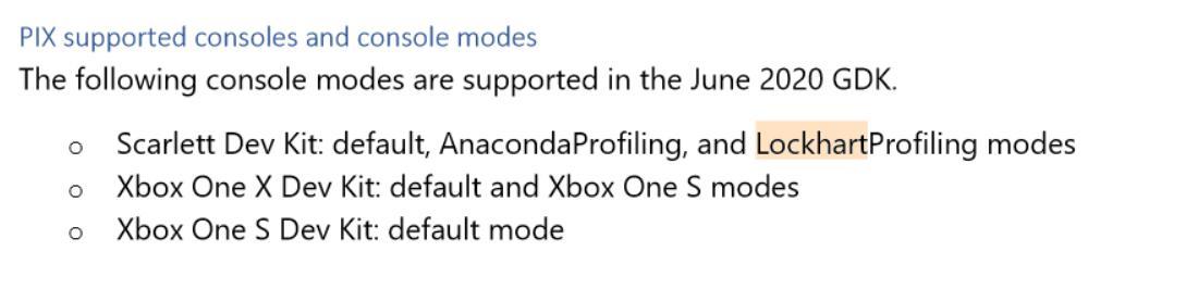 """低配版实锤?开发机文档现""""Xbox Series S Lockhart""""字样"""