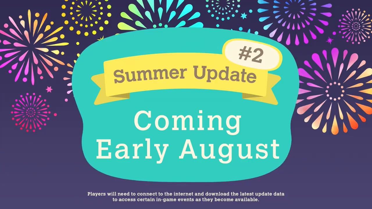 《集合啦!动物森友会》夏季免费更新第一波7月3日上线