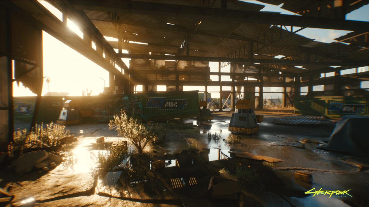 《赛博朋克2077》画面对比视频 首发支持光追和DLSS 2.0