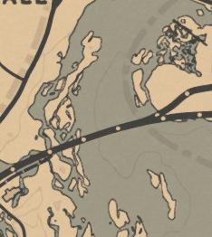 《荒野大镖客2》卡马萨河下游鱼类产出介绍