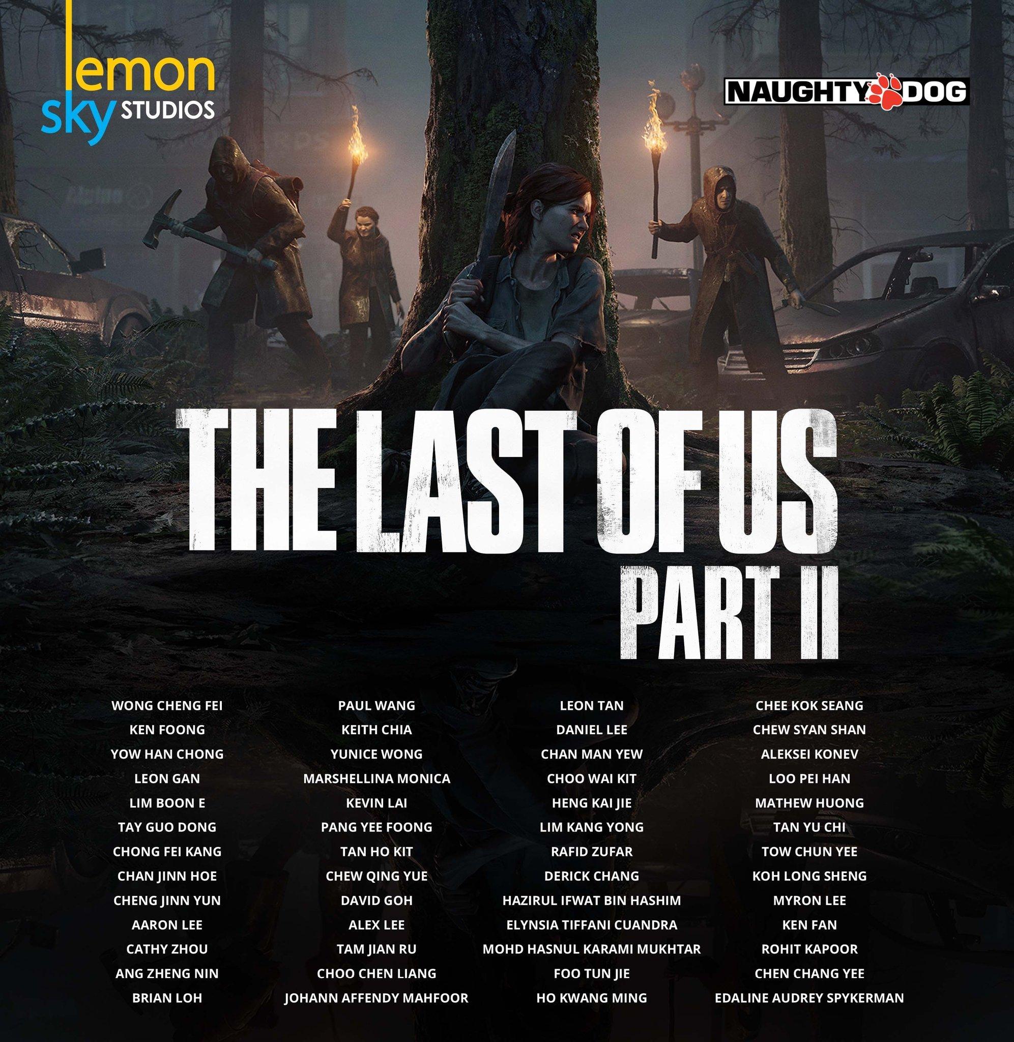 马来西亚工作室Lemon Sky参与开发了《最后的生还