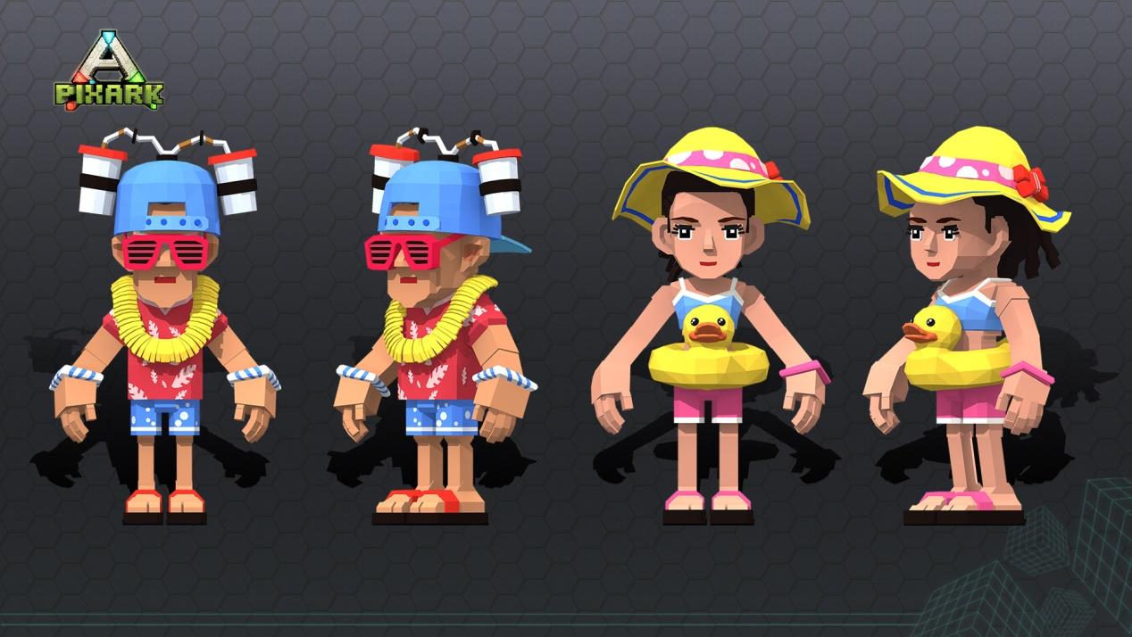 阳光、沙滩和派对!《方块方舟》暑期版本约你称霸海滩!