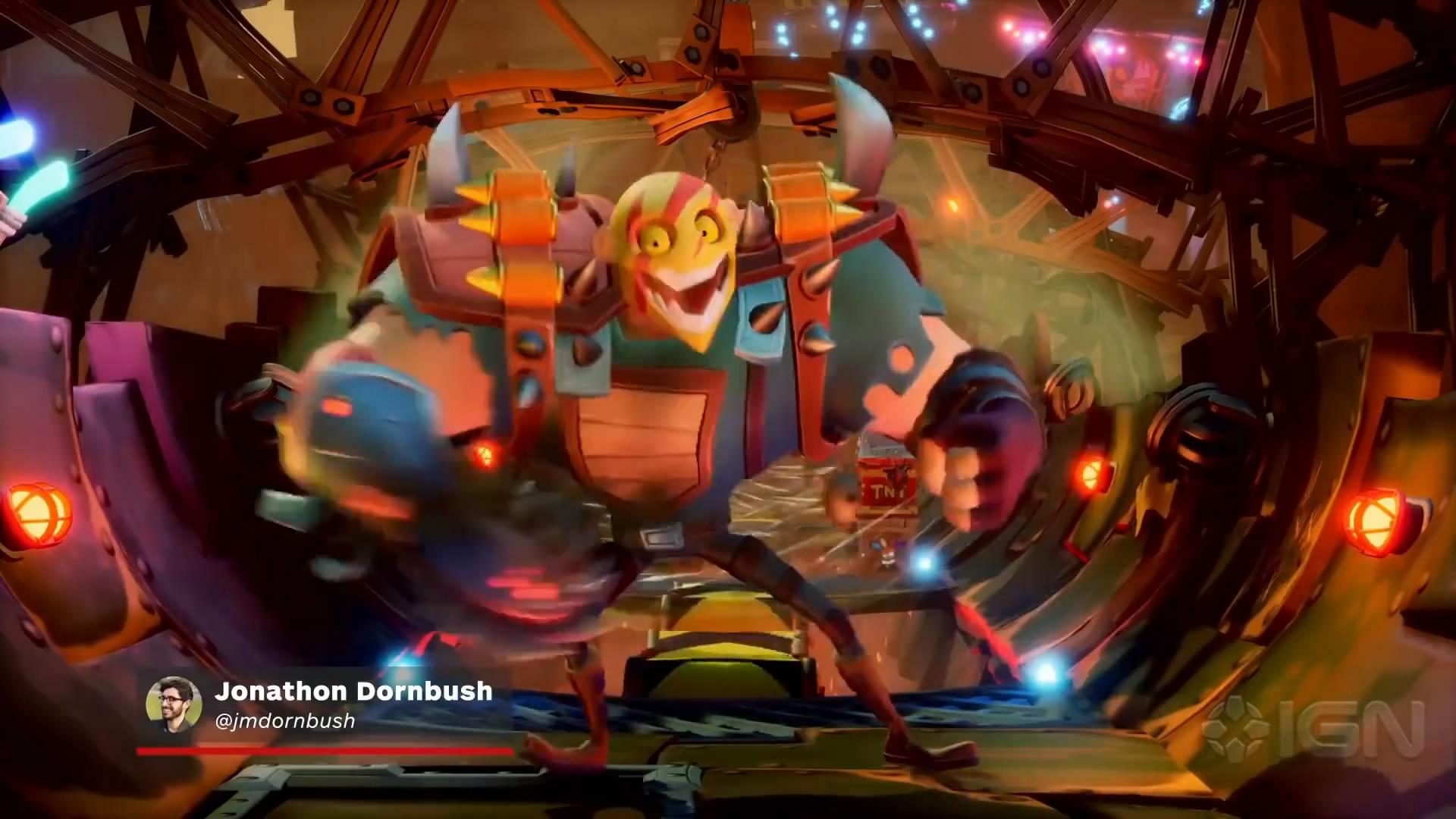 《古惑狼4》新演示视频公布 展示全新海盗关卡