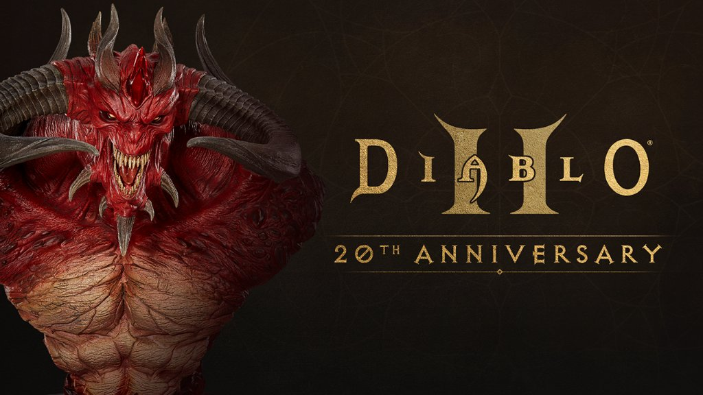 《暗黑破坏神2》20周年纪念 迪亚波罗半身雕像上架