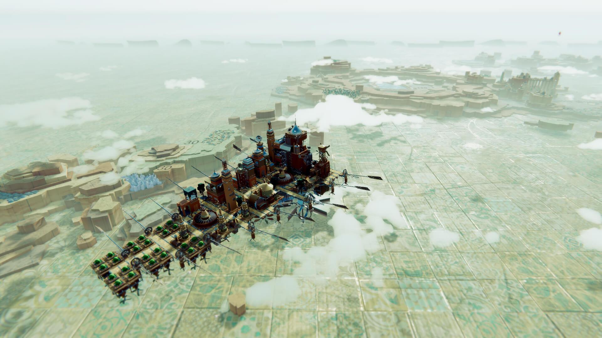 飞行+探索+建造 模拟经营游戏《空中王国》实机演示